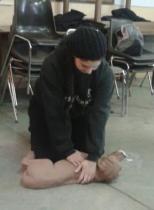 Massage cardiaque sur Casper